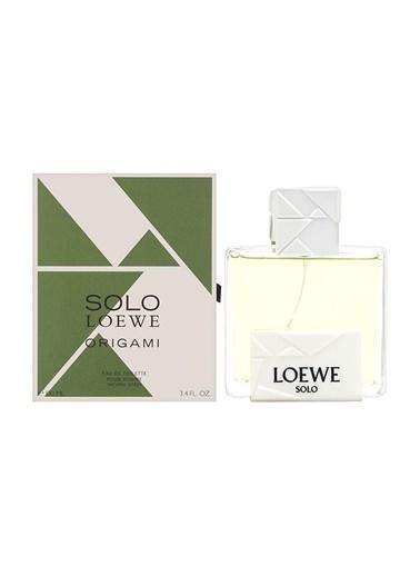 Loewe Solo Origami Edt 100 Ml Erkek Parfümü Renksiz